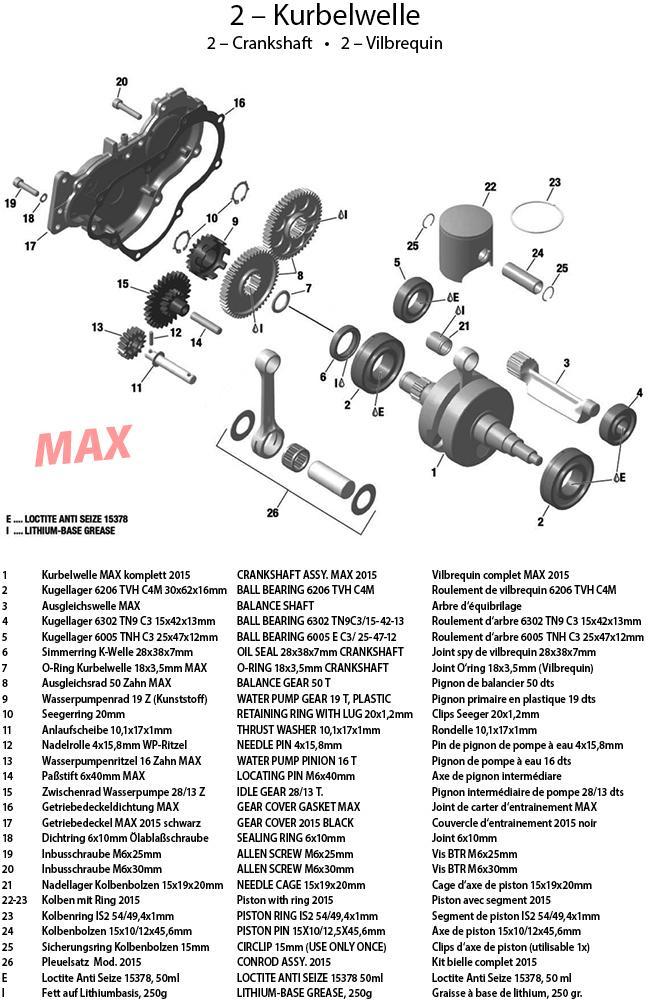 2 - Kurbelwelle 2015 MAX