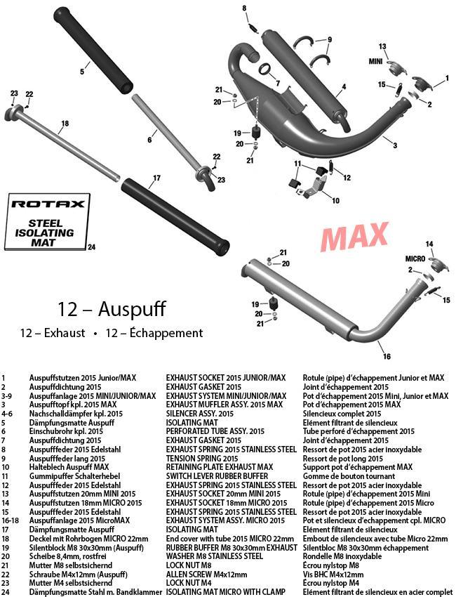 12 - Auspuff 2015 MAX