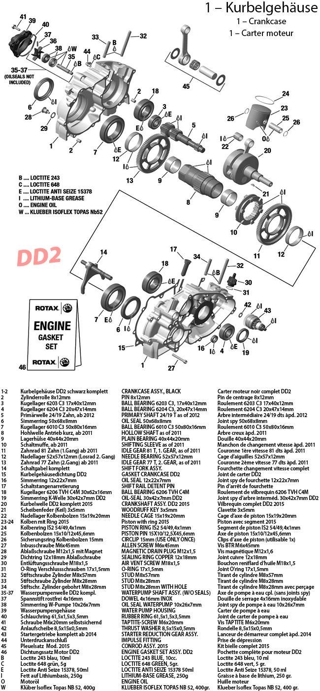 1 - Kurbelgehäuse 2015 DD2