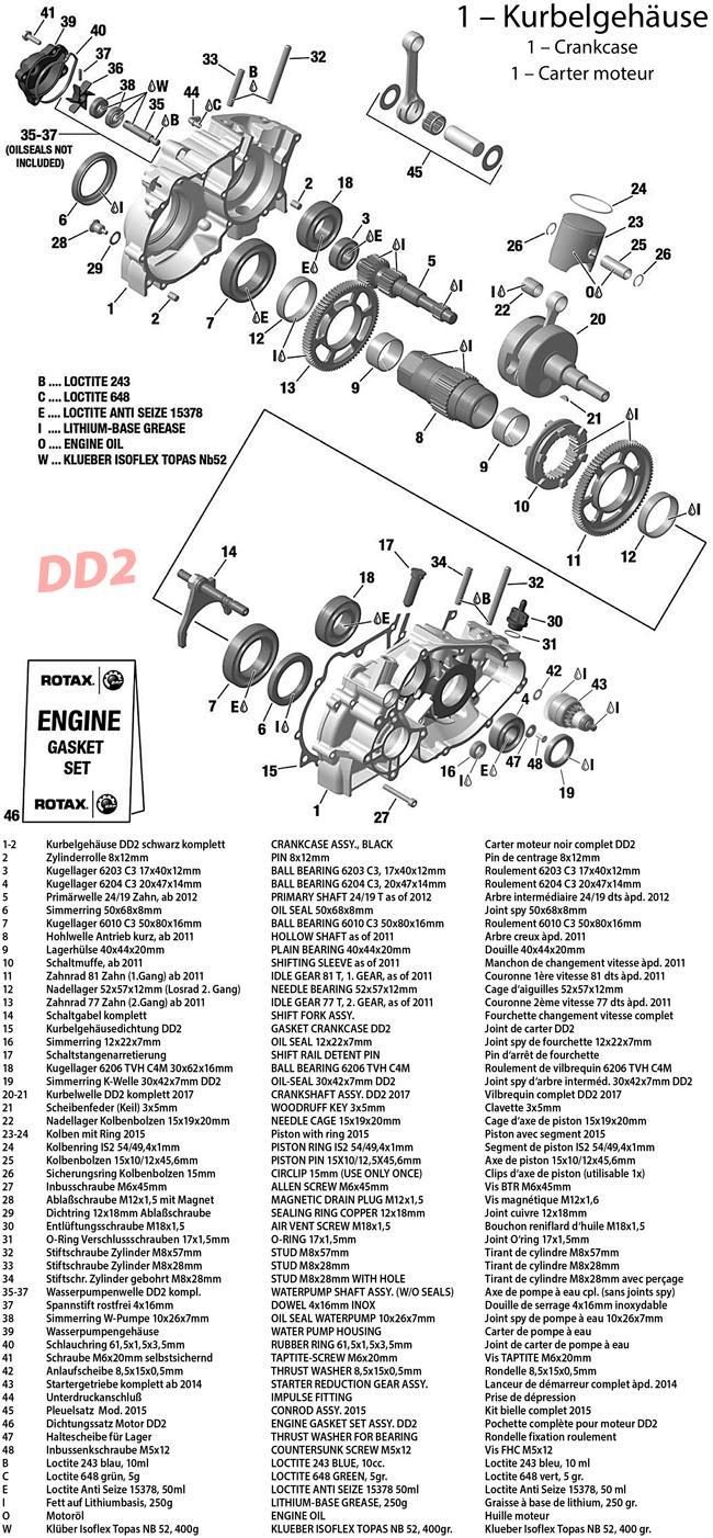 1 - Kurbelgehäuse 2017 DD2