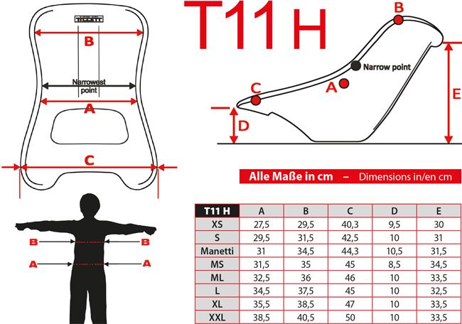 T11 hart