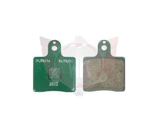 Satz Bremsbelag vorn V05/V09/V11 grün