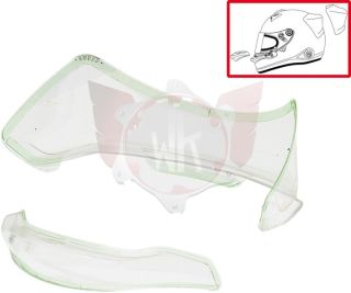ARAI PED SET 2014 TRANSPARENT