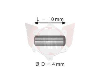 PIN  4X10mm GLATT