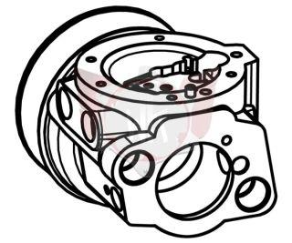Vergasergehäuse BJ2