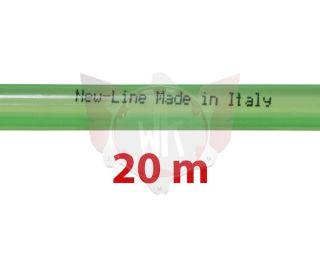 BENZINLEITUNG NEW-LINE 5x9mm GRÜN, ROLLE 20 METER