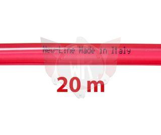 BENZINLEITUNG NEW-LINE 5x9mm ROT, ROLLE 20 METER