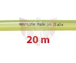 BENZINLEITUNG NEW-LINE 5x9mm GELB, ROLLE 20 METER