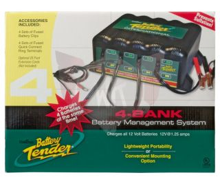 4 Bank International Battery Tender Plus