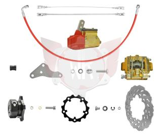 Bremssystem Mini NA gold