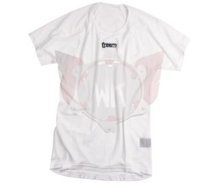 KART-SHIRT UNDER O SUM-DRY WEISS