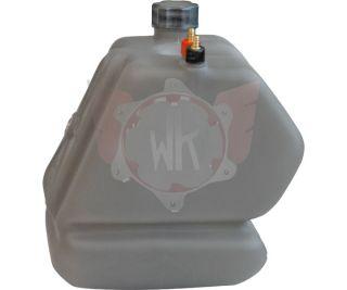 Tank 8,5 l für KZ, getönt, komplett