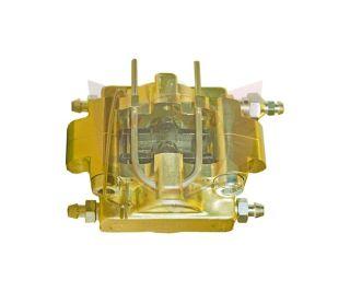Bremssattel V10 D24 gold komplett