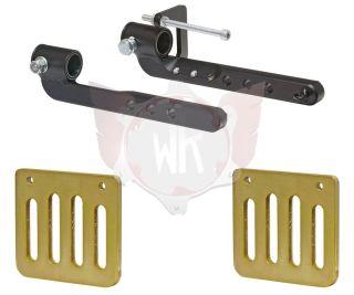 Kit Pedal-Verlängerung und Trägerplatten
