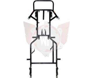 Rahmen Puffo Honda schwarz-matt