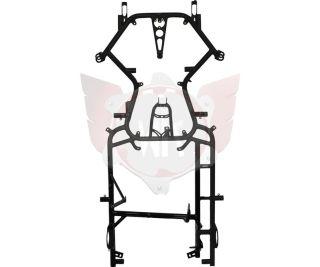 Rahmen Heron 30/30 KZ 2018 schwarz-matt