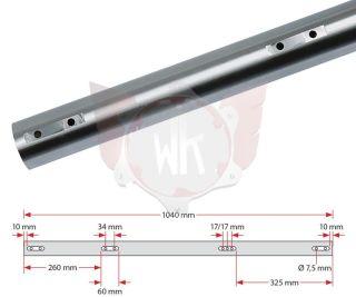 ACHSE KZ 1040x50x2mm EXTRA HART