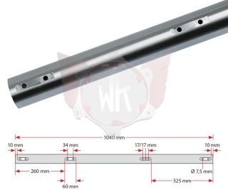 ACHSE KZ 1040x50x2mm SOFT