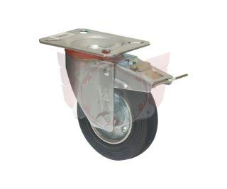 LENKROLLE 100X30mm MIT PLATTE 100X85mm