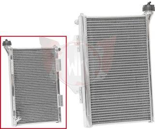 Radiateur alu IR002 arrondi, 300 x 450 x 42 mm