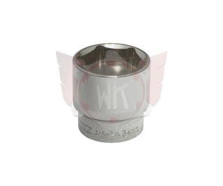 6-KANT STECKNUSS 34mm, 1/2 Zoll, CHROME+