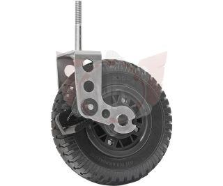 VORDERRAD PU 2.50/4 DN220mm MIT BREMSE UND