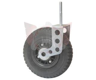 VORDERRAD PU 2.50/4 DN220mm MIT BEFESTIGUNG