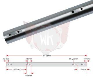 ACHSE 1040x50x2mm MITTEL 100ccm