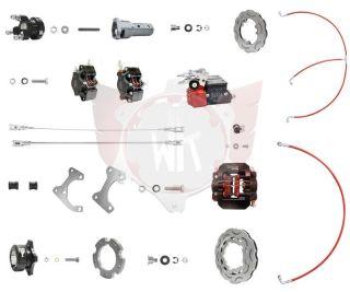 Bremssystem V05 KZ D50 komplett