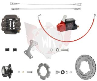 Bremssystem V09 DD 189 schwarz