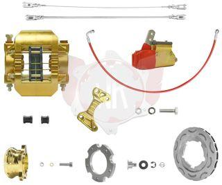 Bremssystem V11 OK / V09 OKJ 189 gold