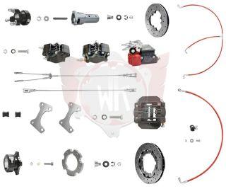Bremssystem V11 KZ 192 schwarz