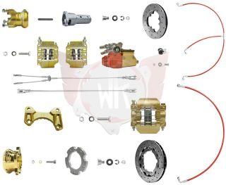 Bremssystem V11 KZ 192 gold