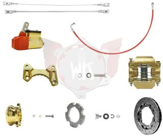 Bremssystem V11 OK 192 MG gold