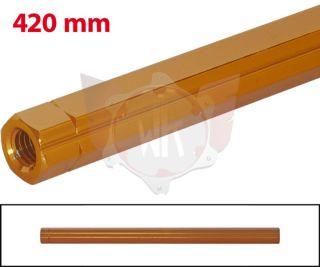 SCHALTSTANGE 420mm ORANGE ELOXIERT