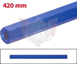 SCHALTSTANGE 420mm BLAU ELOXIERT