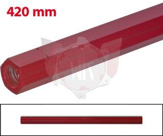 SCHALTSTANGE 420mm ROT ELOXIERT