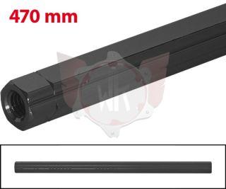 SCHALTSTANGE 470mm SCHWARZ ELOXIERT