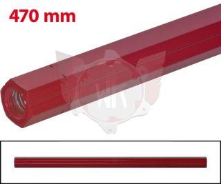 SCHALTSTANGE 470mm ROT ELOXIERT