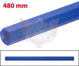 SCHALTSTANGE 480mm BLAU ELOXIERT