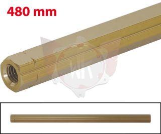 SCHALTSTANGE 480mm GOLD ELOXIERT