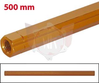 SCHALTSTANGE 500mm ORANGE ELOXIERT