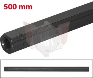 SCHALTSTANGE 500mm SCHWARZ ELOXIERT
