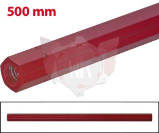 SCHALTSTANGE 500mm ROT ELOXIERT