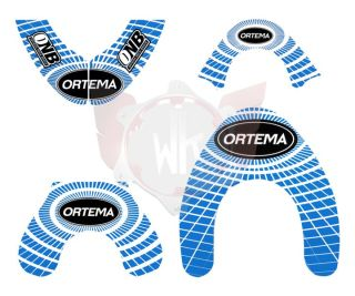 ORTEMA STICKER KIT BLAU GRÖSSE M