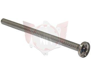 Deckel Endschalldämpfer mit Rohr DD2