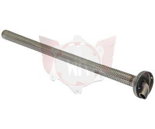 Deckel Endschalldämpfer mit Rohr MicroMAX