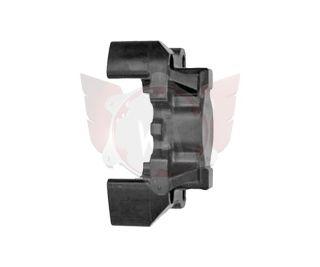 Bremssattel-Hälfte L V09/V10/V11 schwarz