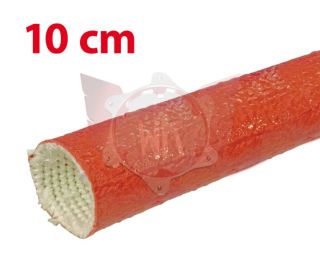 SILIKONSCHLAUCH 50mm ROT, LÄNGE 10cm