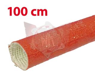 SILIKONSCHLAUCH 50mm ROT, LÄNGE 100cm
